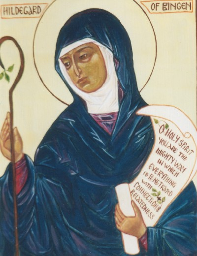 bingen women This was not just an ordinary little girl grown up, this was a woman named hildegard of bingen, one of the strongest, wisest, most influential people of her century a very good biography of hildegard was written by james kiefer which details many of the skills for which she became so recognized both then and now.